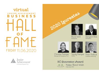 View the details for 20th Anniversary Junior Achievement Business Hall of Fame